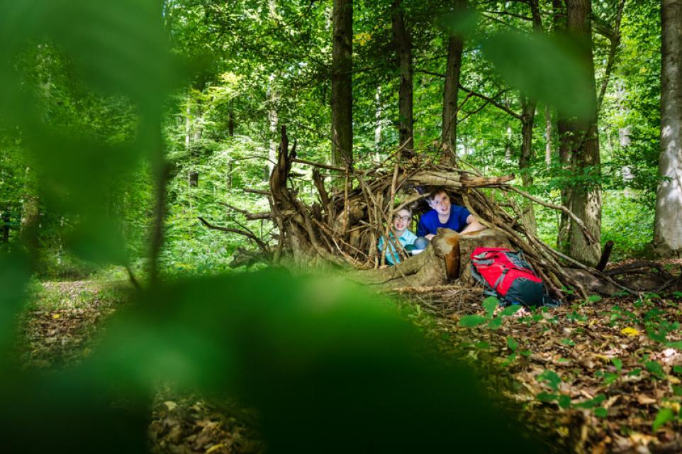 Offene Waldgruppe mit Kinderyoga