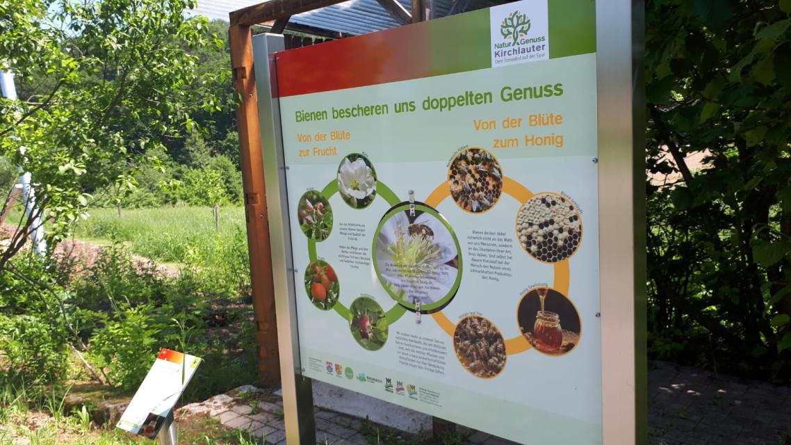 Gönn Dir! - Wochen: Auftaktveranstaltung mit der Naturpark-Rangerin und dem Imkerverein unter dem Mo...