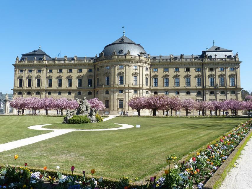 Würzburg mit dem Weltkulturerbe Würzburger Residenz