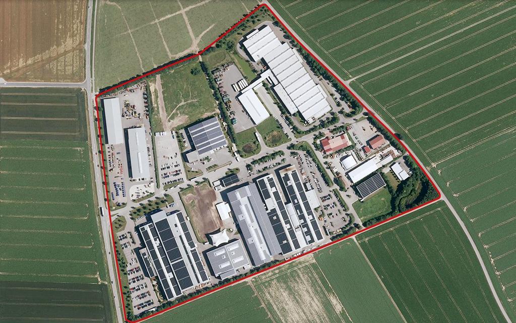 Industriegebiet Salching