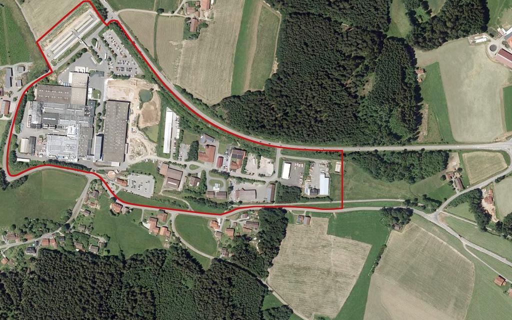 Gewerbegebiet Streifenau/Konzell
