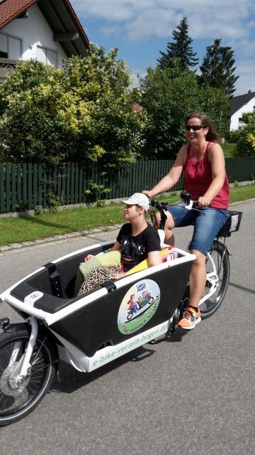 Barrierefreier Fahrradverleih und E-Bike-Verleih Bogen