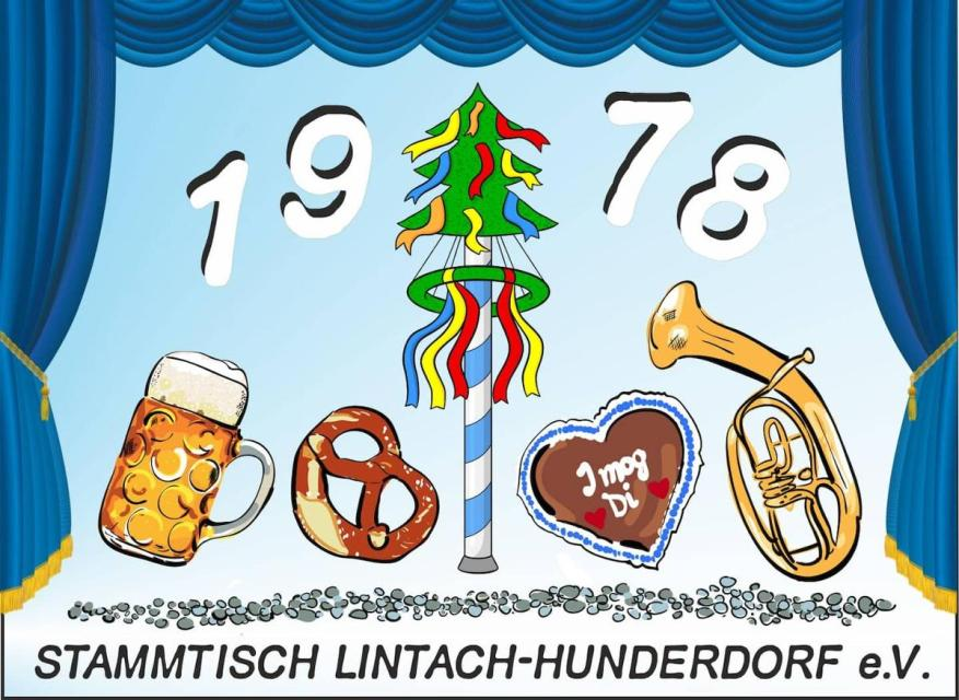 Rosenmontagsball mit den 6y Samma des Stammtisch Lintach-Hunderdorf