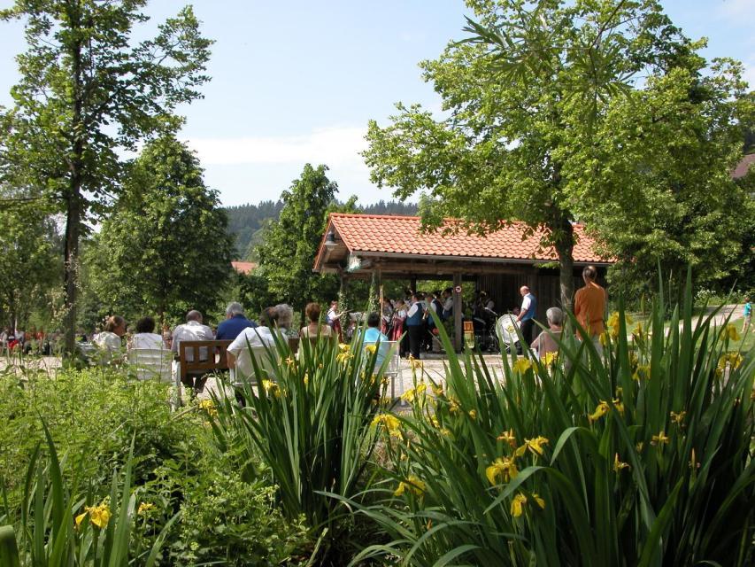Ostereiersuchen im Kurpark Sankt Englmar