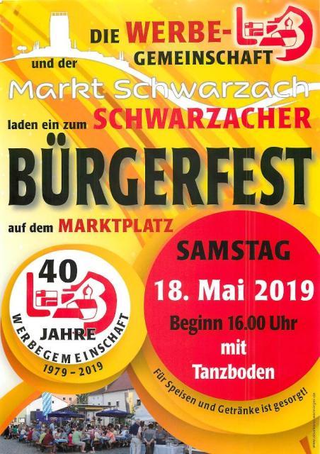 Bürgerfest in Schwarzach