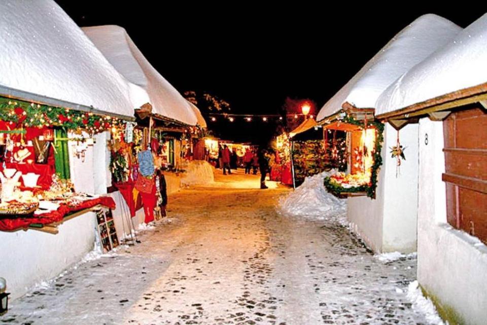 Bogener Vorweihnacht- Weihnachtsmarkt auf den Bogenberg - Christkindlmarkt
