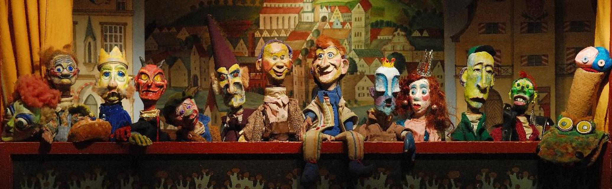 "Dr. Döblingers geschmackvolles Kasperltheater: ""Kasperl und die Stinkprinzessin"""