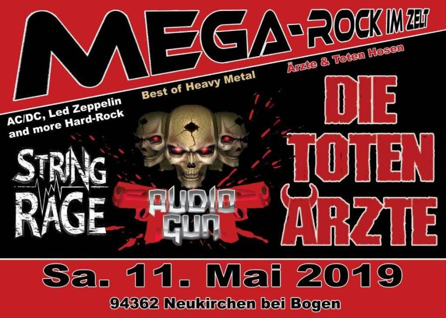 Mega Rock im Zelt - Sensationskonzert