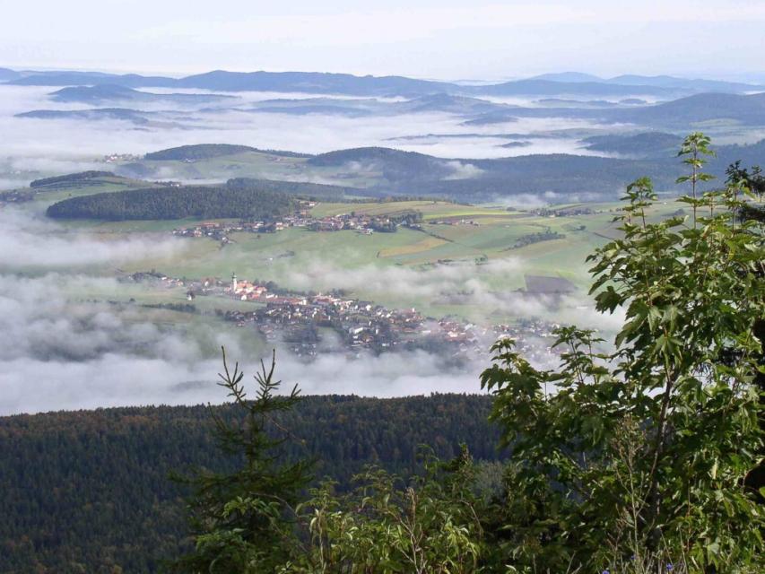 Baierweg - 4. Etappe: Bad Kötzting - Neukirchen b.Hl.Blut