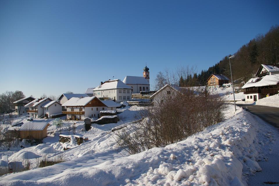 Perasdorf im Winter -