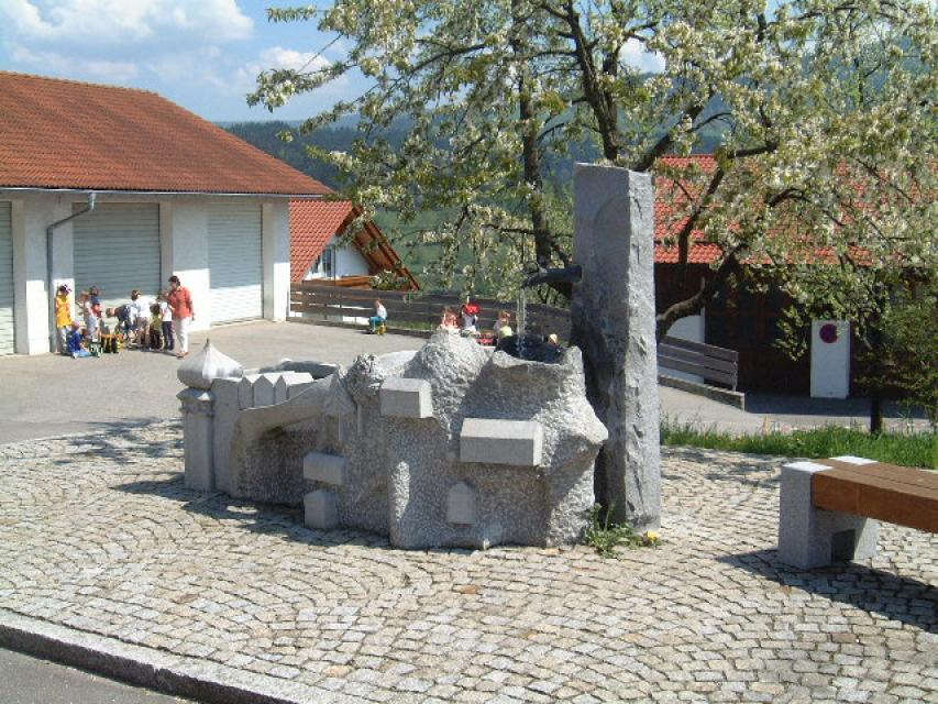 Dorfbrunnen Perasdorf -