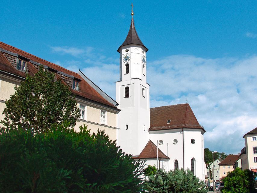Kath. Stadtpfarrkirche St. Florian