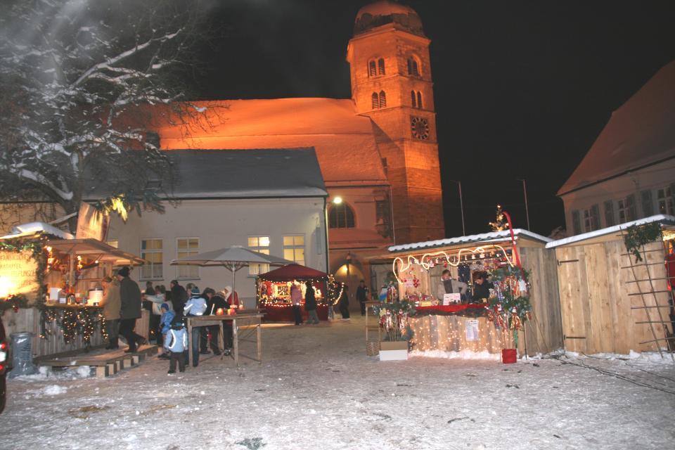 Weihnachtsmarkt auf dem Bogenberg