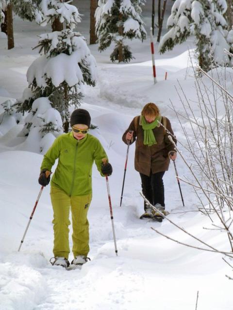 Nordic-Cruising; Nordic-Snowshoeing-Elisabethszell