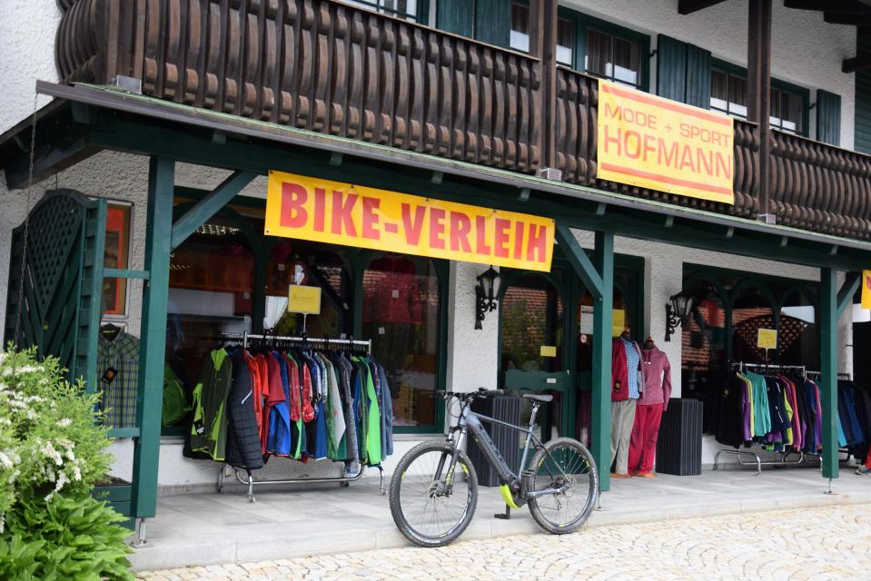 eBike Verleihstation Sport Hofmann