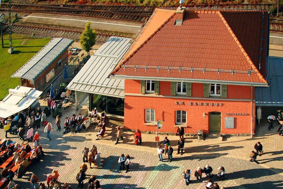 Tourismus- und Informationszentrum im Bahnhof