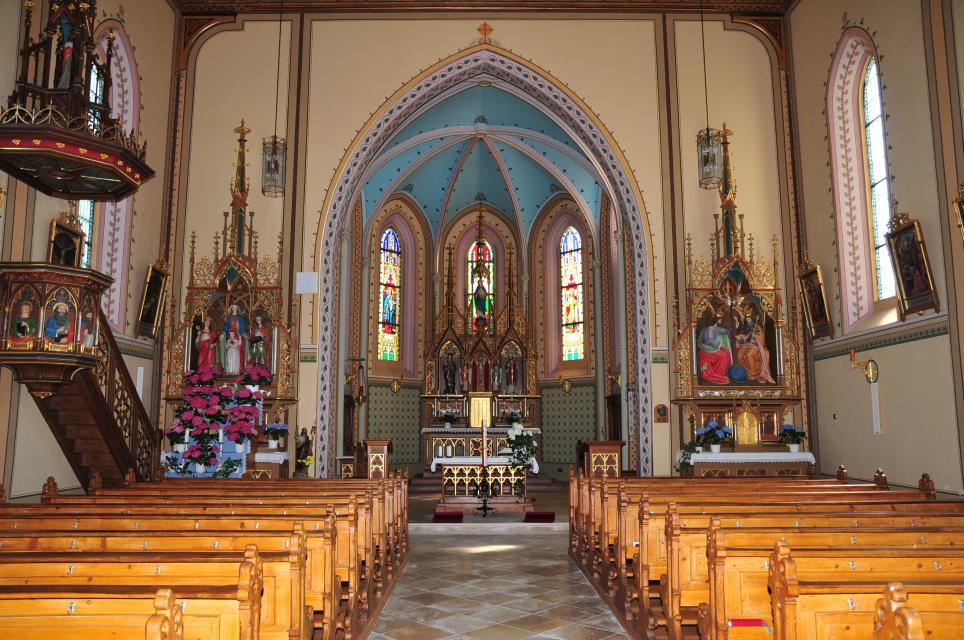 Kath. Pfarrkirche St. Vitus in Wetzelsberg