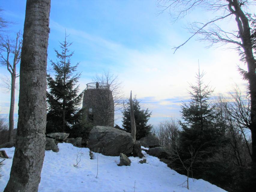 Hirschenstein im Winter -