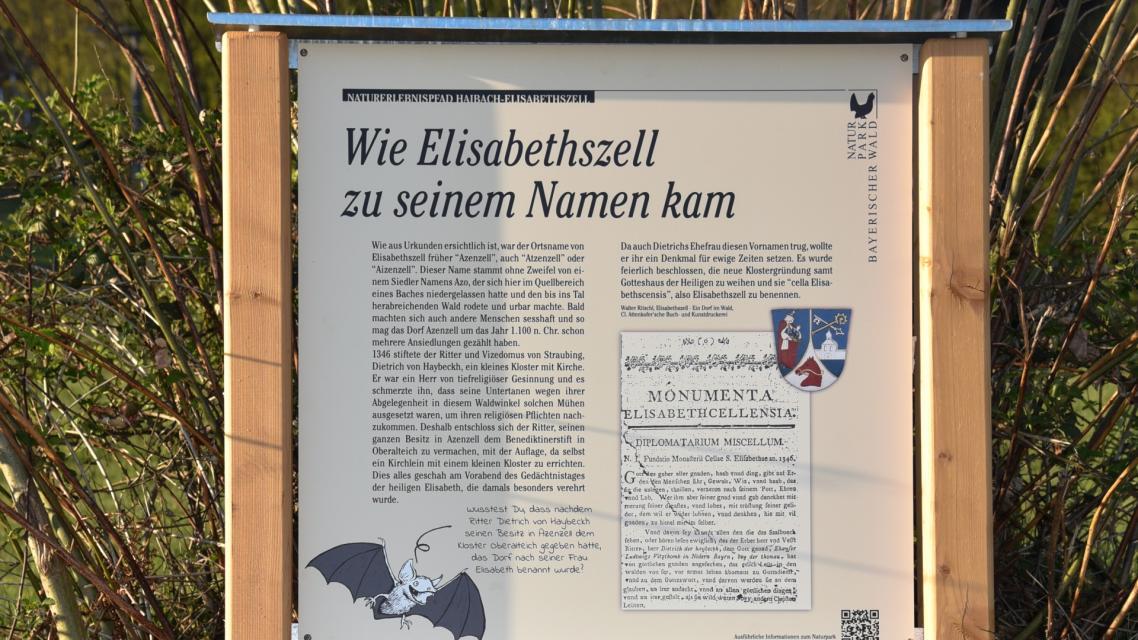 Der Kräuterweg in Elisabethszell Nr. 13