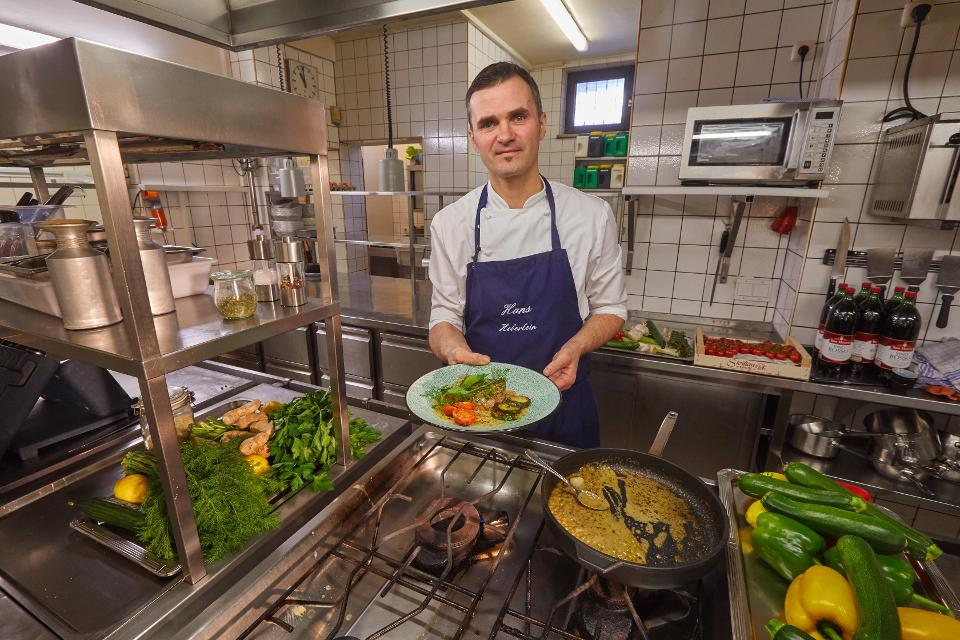Küchenchef Hans Heberlein