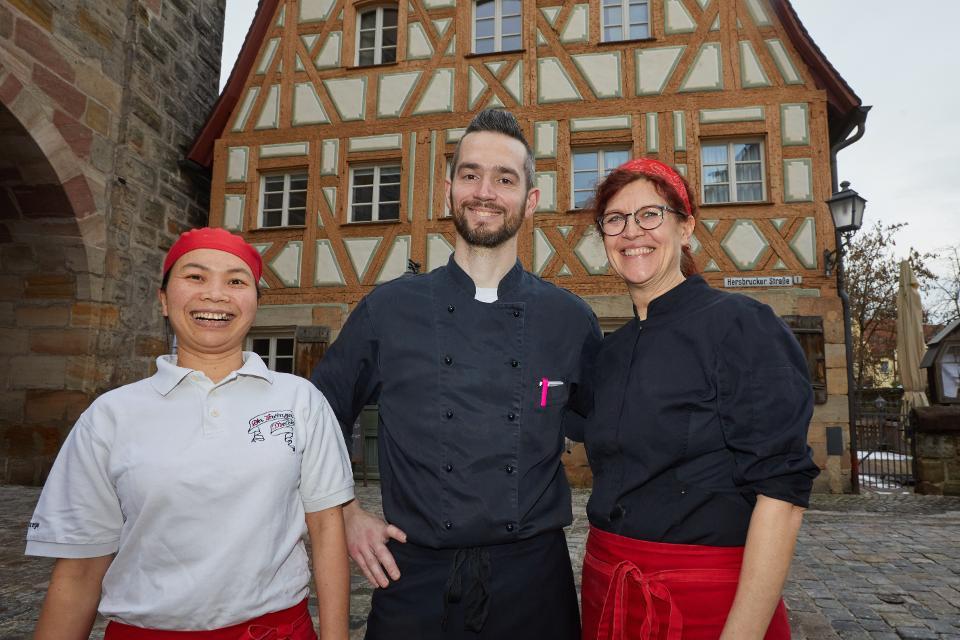 Küchenteam des Zwinger Melber