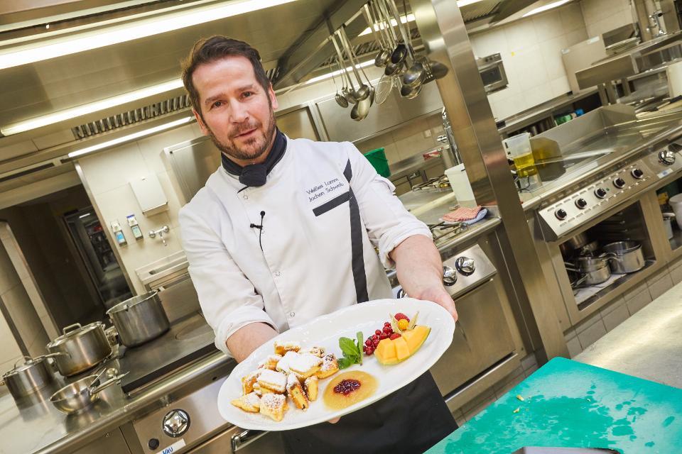 Küchenchef Jochen Schwab
