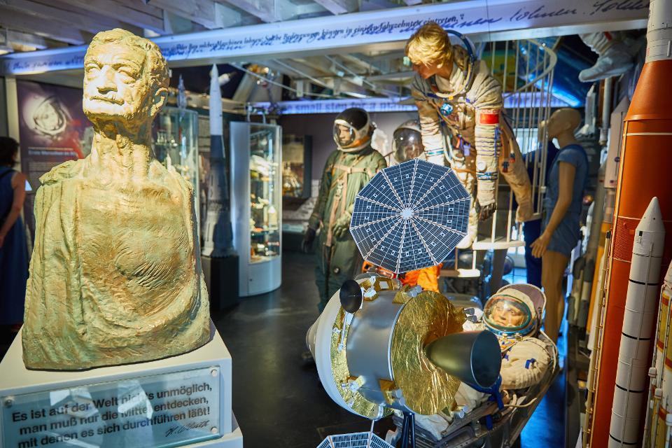 Hermann-Oberth-Raumfahrt-Museum  Foto: Frank Boxler