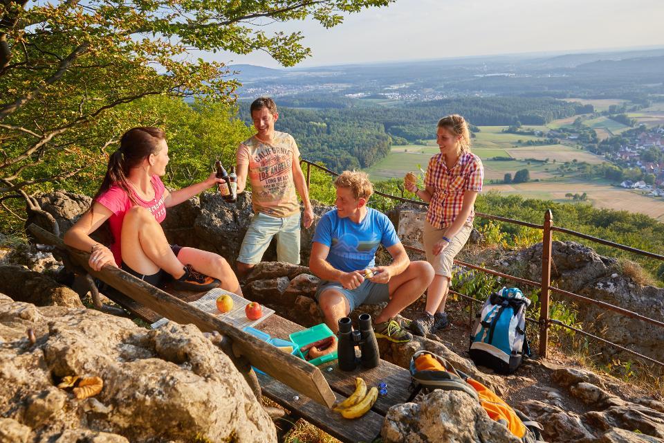 Tourismus am Glatzenstein - Foto: Frank Boxler