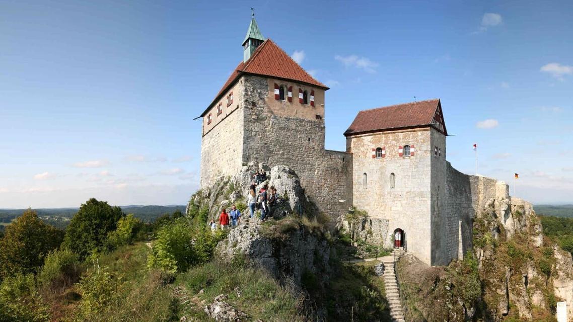 Burg Hohenstein - Wahrzeichen des Nürnberger Lands