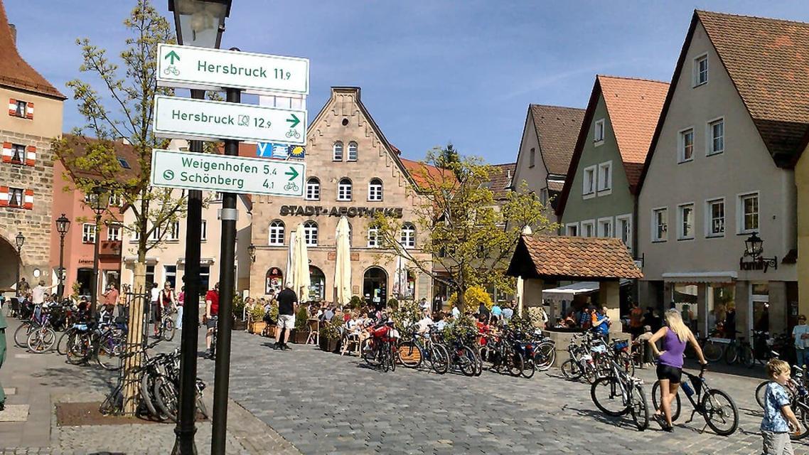 Radstadt Lauf an der Pegnitz