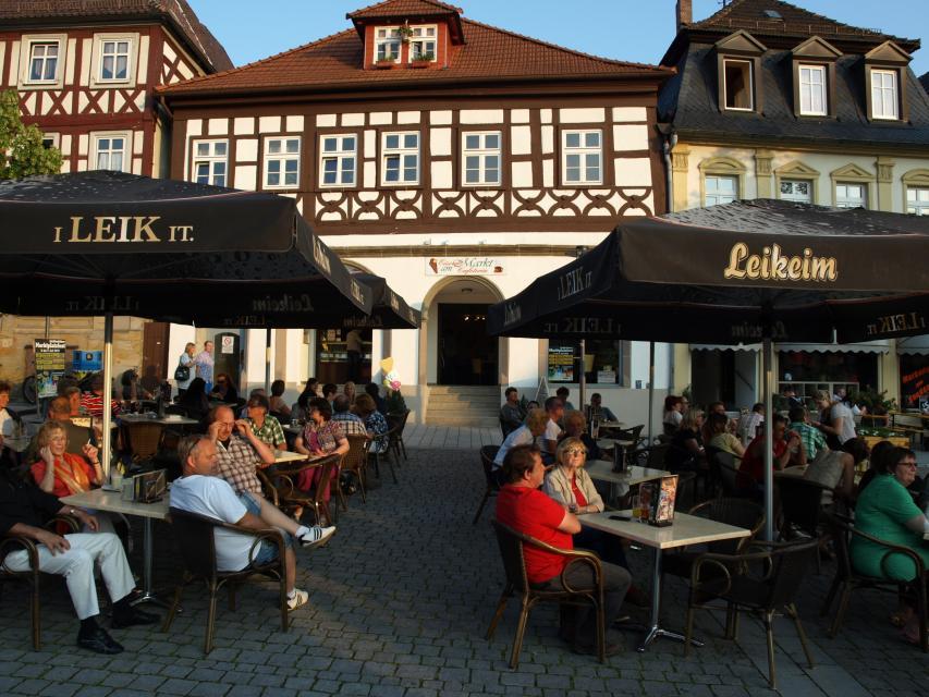 """Eiscafé """"am Markt"""""""