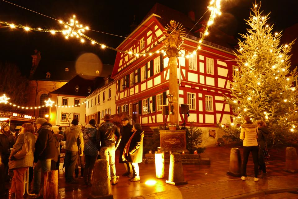 Amorbach im Advent