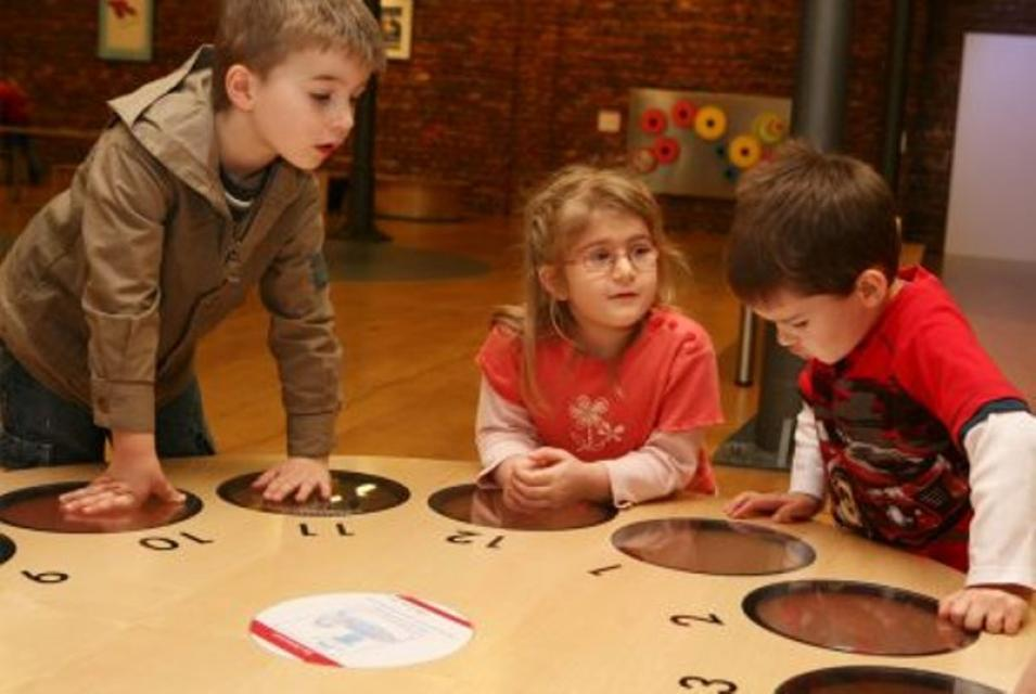Mini-Mathematikum - Ausstellung