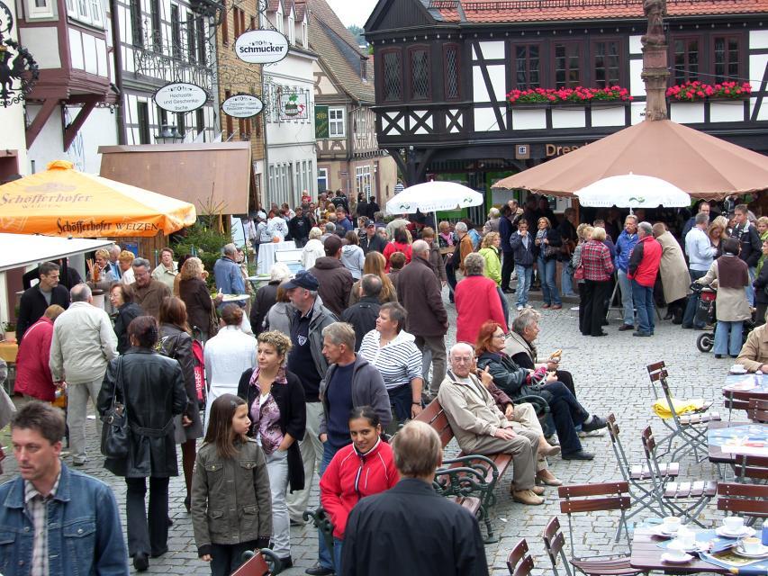 Weinbrunnenfest Michelstadt