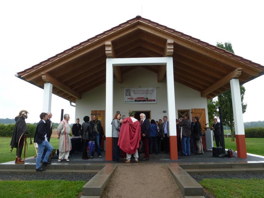 Römerfest auf der Villa Haselburg