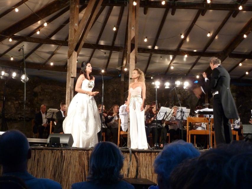 """Klassik-Open-Air """"Italienische Nacht"""" auf Burg Lindenfels - Leidenschaften: Verdi trifft Puccini"""
