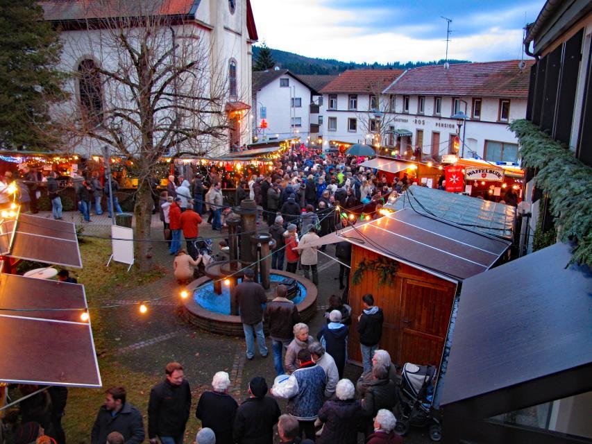 Weihnachtsmarkt Ober-Abtsteinach