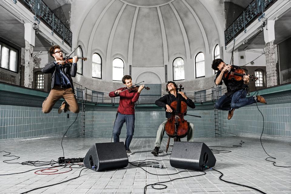 """""""Konzerte in der Elfenbeinstadt Erbach"""" mit dem Vision String Quartet"""