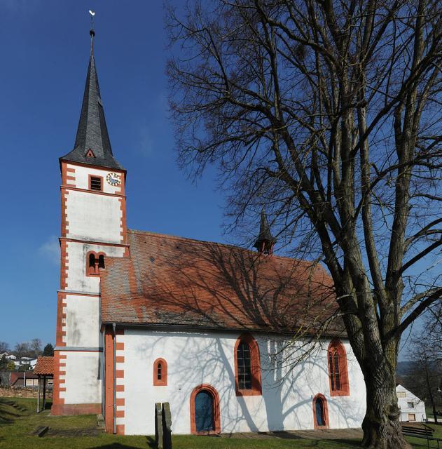 Evangelische Gemeinde Güttersbach/Geopark-vor-Ort: Geführte Besichtigung der Quellkirche