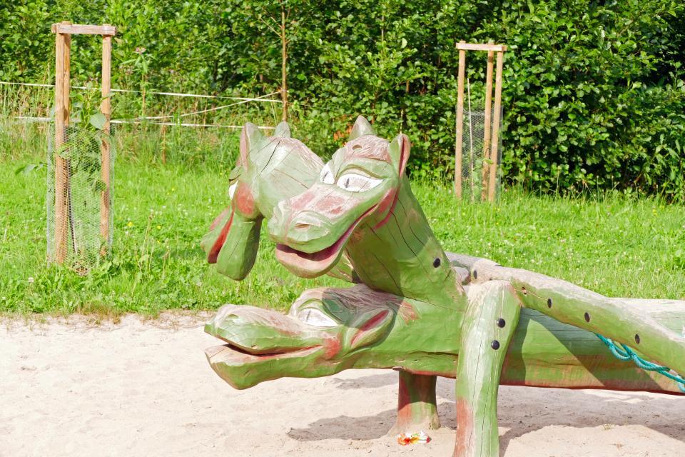Kieselbarts Felsenmeer-Familientour »Drachengeheimnisse«