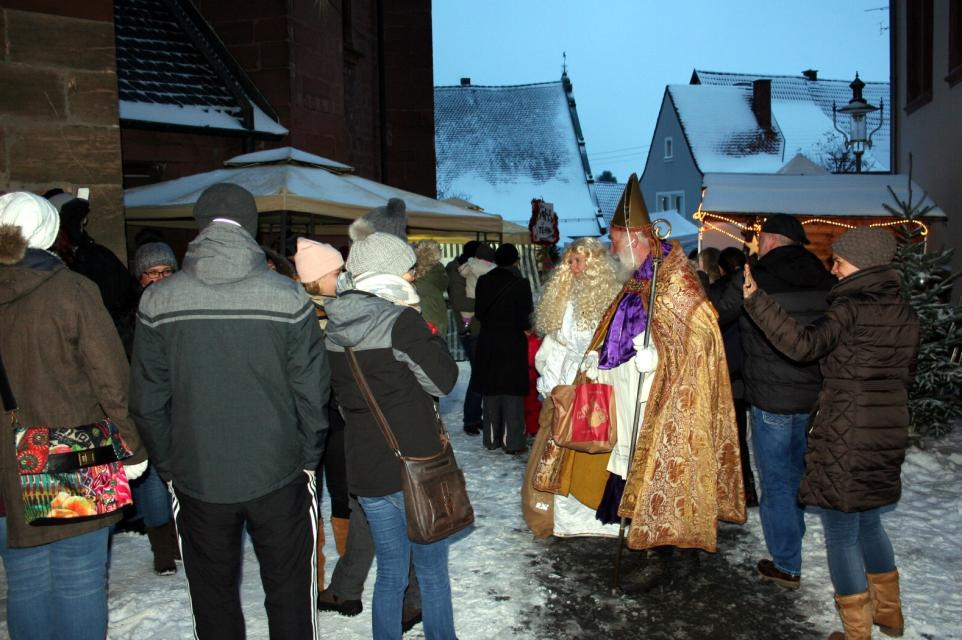 Weihnachtszauber in der Basilika