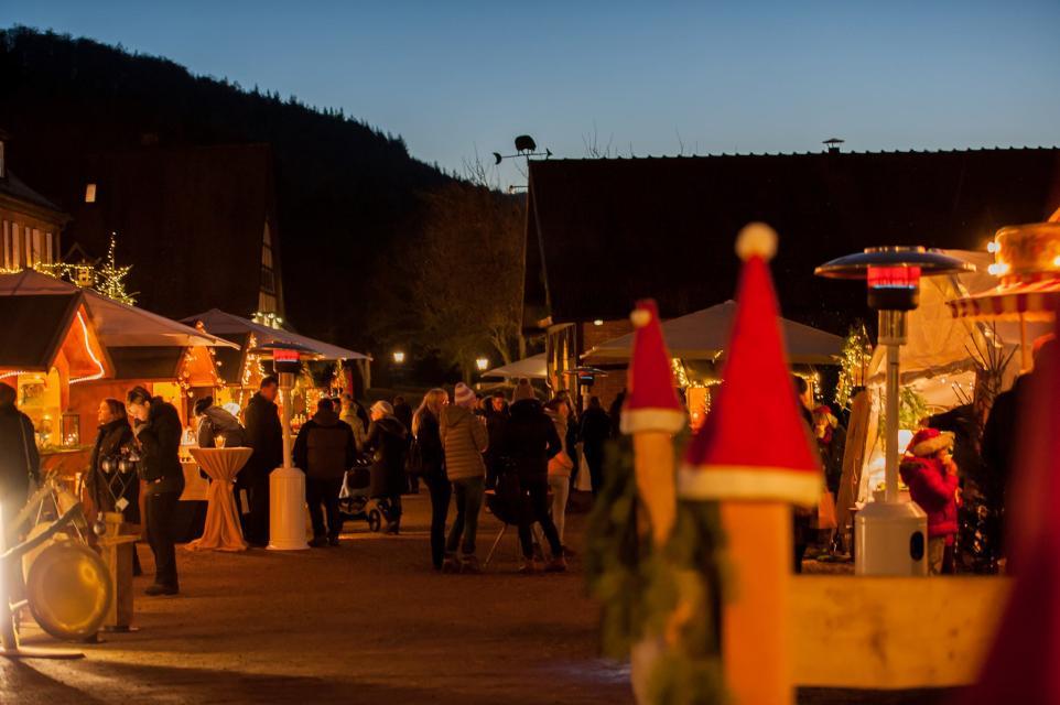 Weihnachtsmarkt am Schafhof