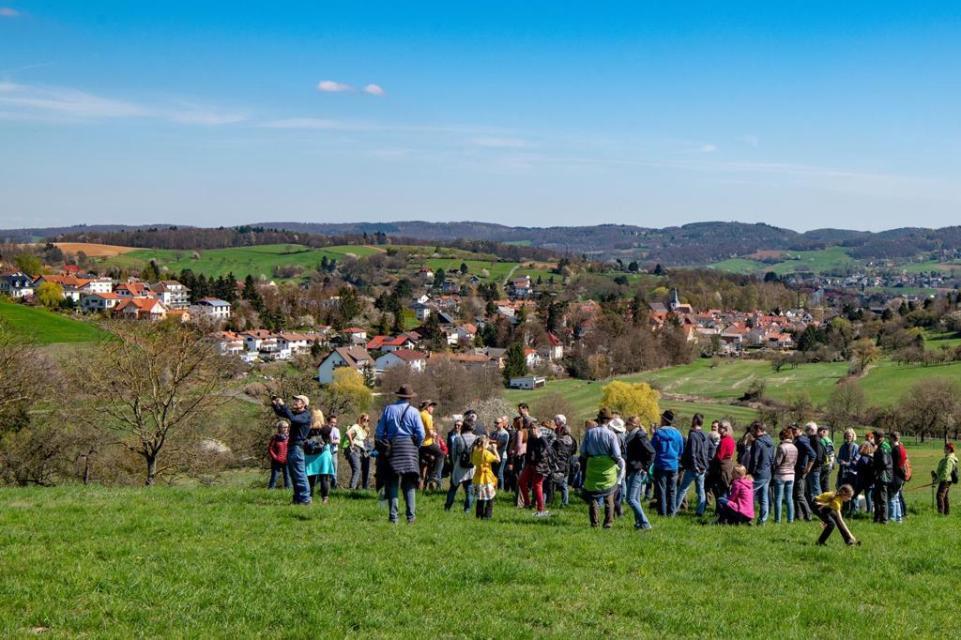Weide-Wanderung Hof Schleiersbach