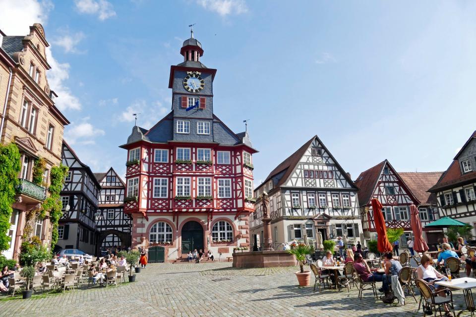 Osterkonzert auf dem Heppenheimer Marktplatz