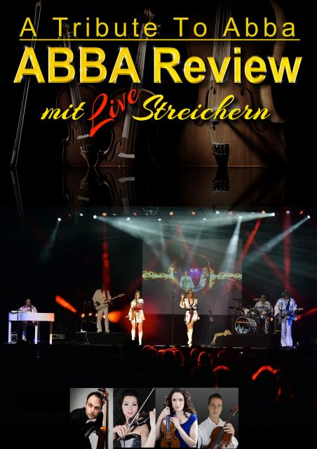 "ABBA Review ""A Tribute to ABBA"" mit LiveStreichern"