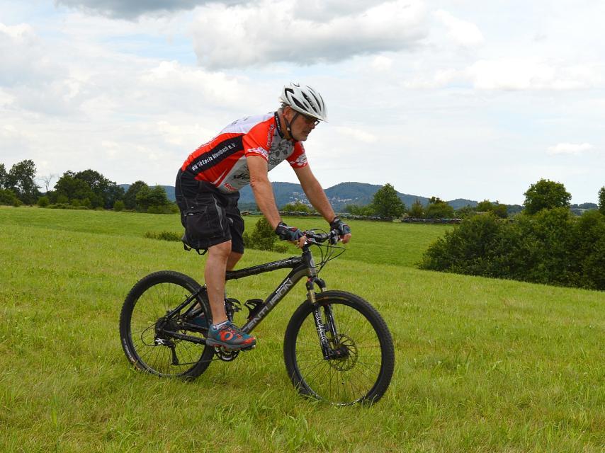 Erlebnistour auf die Tromm mit dem Mountainbike