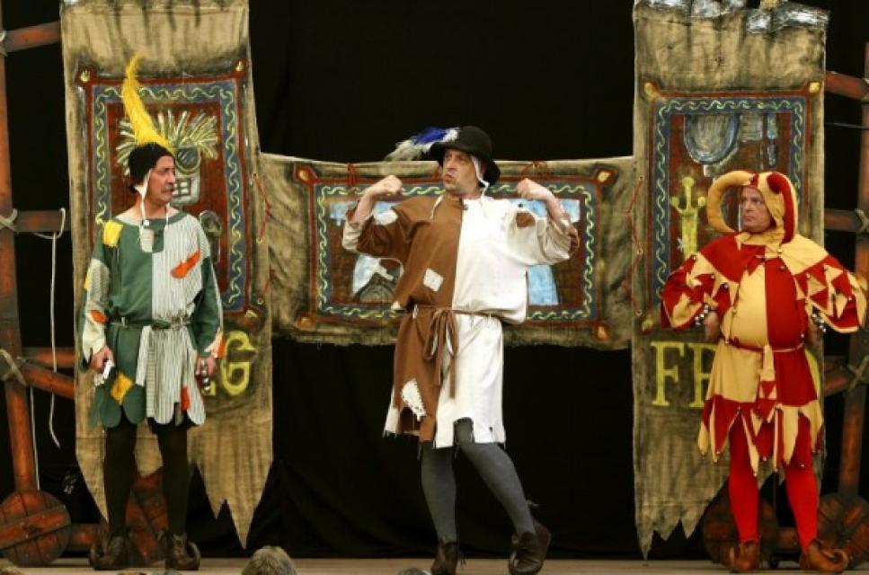 Kulturbühne Odenwald / Kikeriki Theater - Siegfrieds Nibelungenentzündung