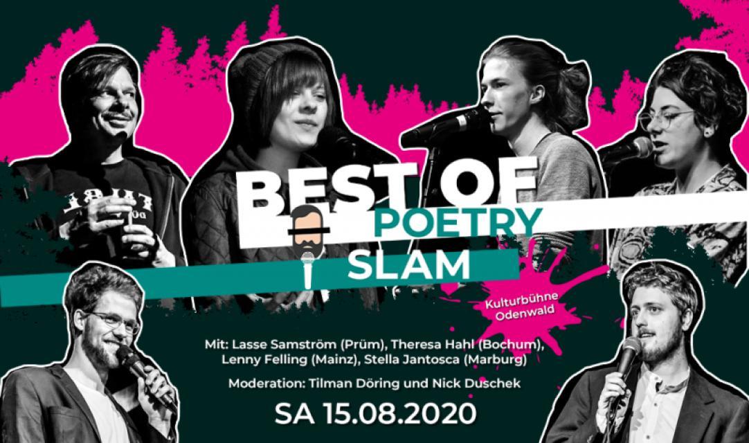Kulturbühne Odenwald  - Best of Poetry Slam