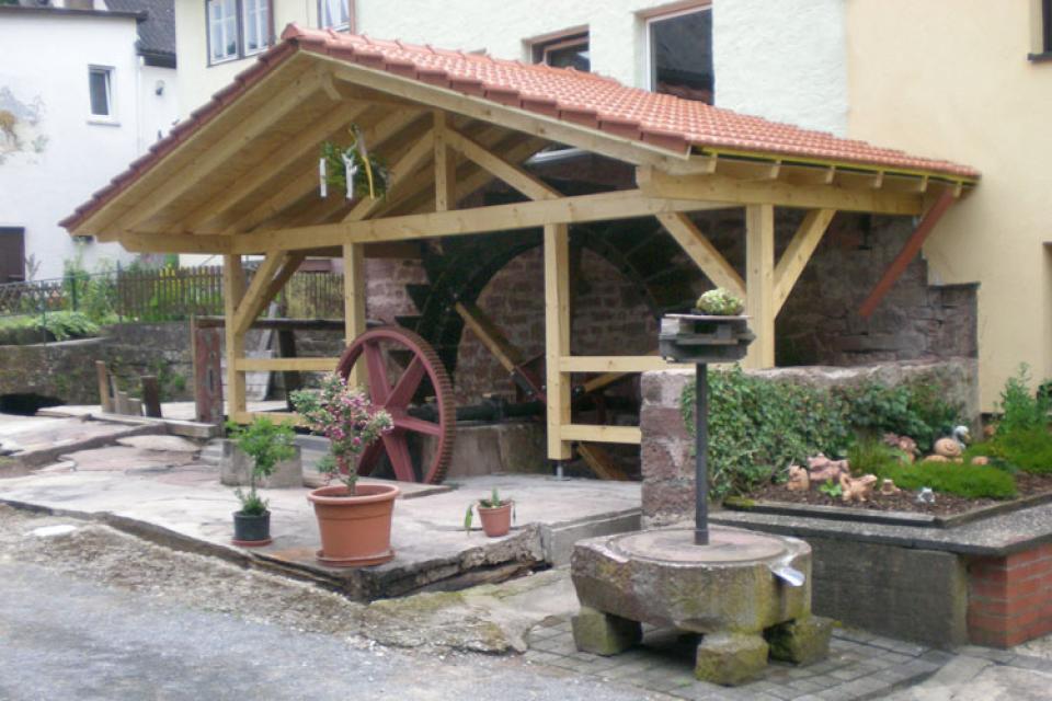 Mühlenrundgang in Amorbach