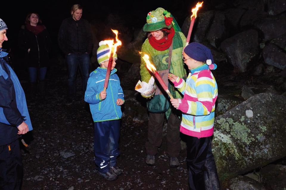 Der Odenwald brennt - Fackelwanderung
